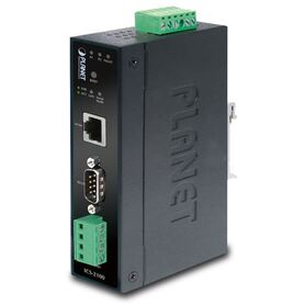 Planet Industrial RS 232 RS 422 RS 485 to100Mbps RJ45 Media Converter ( 40~75C)