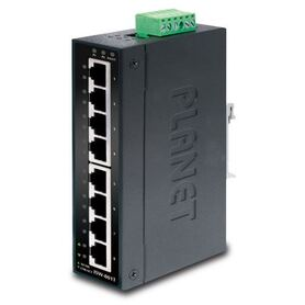 Planet Industrial 8 Port (8x 100Mbps RJ45) Switch ( 40~75C) unmanaged