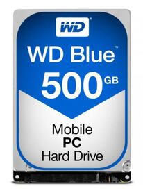 Western Digital HDD 500GB 5400RPM 2 5 SATA 16