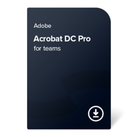 Adobe Acrobat Pro DC for teams PC/MAC Multi Language 1 godina digital certificate