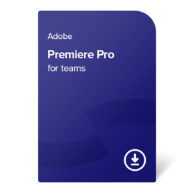 Adobe Premiere Pro for teams PC/MAC ENG 1 godina digital certificate