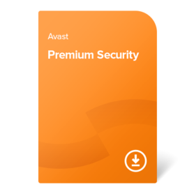 Avast Premium Security – 1 Year 10 devices digital certificate